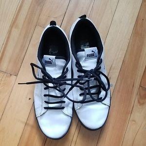 [PUMA] white sneakers 42.5